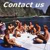 Scuba divers diving at Phi Phi Island Liveaboard Phuket