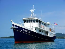 Giamani Thailand Liveaboard Similan island with Dive Asia